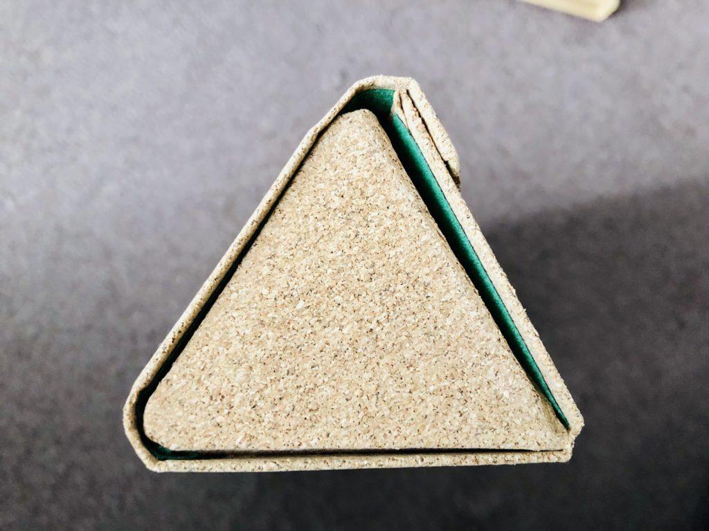 メガネケース三角